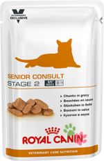 Royal Canin Senior Consult Stage 2 (Сеньор Консалт Стейдж 2), пауч