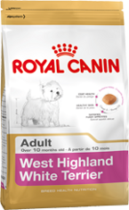Royal Canin West Highland White Terrier Adult 21 (Вест-Хайленд-Уайт-Терьер)
