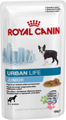 Royal Canin Urban Life Junior (пауч)