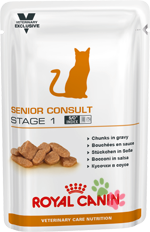 Royal Canin Senior Consult Stage 1 (Сеньор Консалт Стейдж 1), пауч