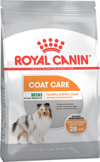 Royal Canin Mini Coat Care корм для собак с тусклой шерстью