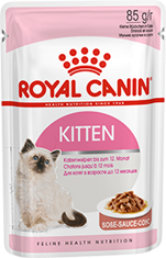 Royal Canin Kitten Instinctive (в соусе)