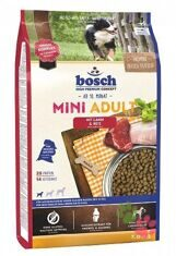 Корм для собак Бош Мини Эдалт Ягненок с Рисом (Bosch Mini Adult Lamb & Rice)