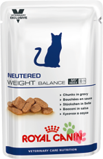 Royal Canin Neutered Weight Balance (Нютрид Вэйт Баланс), пауч